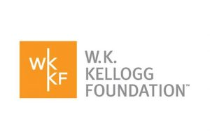 A text based logo for the W.K. Kellogg Foundation.