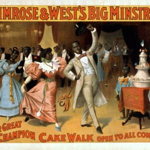 """Primrose & West's Big Minstrels"" circa 1896. Source: Library of Congress"