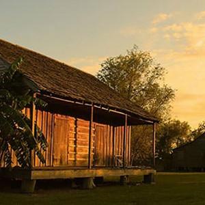 Slave Cabin at Whitney Plantation. Image by Elsa Hahne. Courtesy of Whitney Plantation.