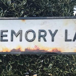 Memory Lane sign by Martin Bennett / Stockimo Source: Alamay Stock Photo