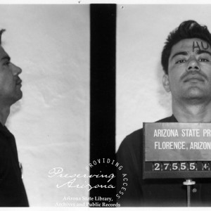Ernesto Miranda, 1963. Source: Arizona State Library, Archives and Public Records, History and Archives Division, Phoenix, #00-0517.