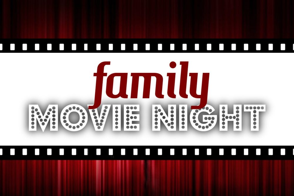 Family movie night widescreen