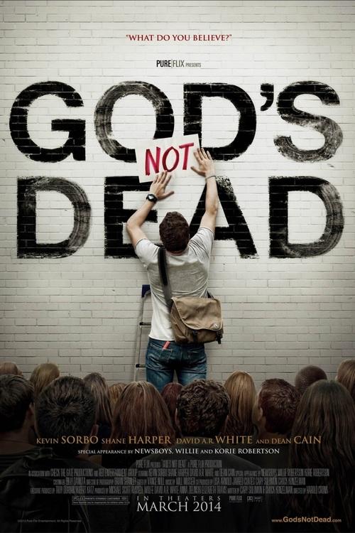 Gods not dead 2014 movie poster