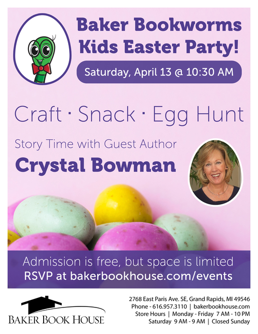 2019 easter party poster 8 5x11
