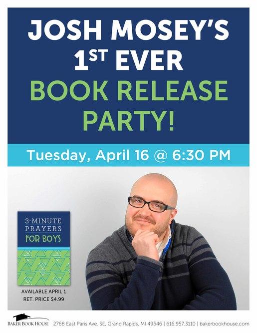 Josh event poster