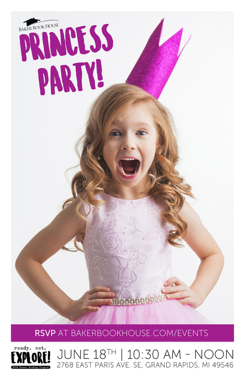 2019 srp princess party poster