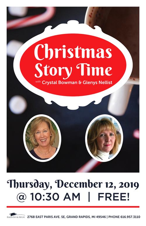 2019 christmas storytime poster