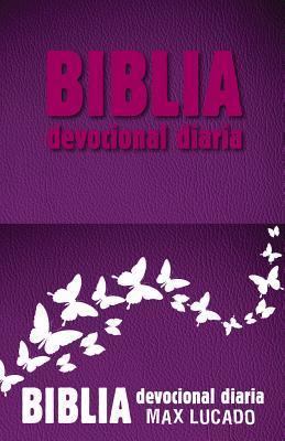 Biblia Devocional Diaria - Rosa
