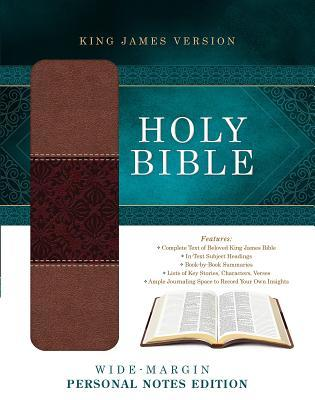 Wide-Margin Personal Notes Bible-KJV