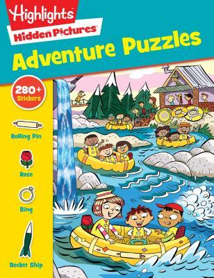Sticker Adventure Puzzles