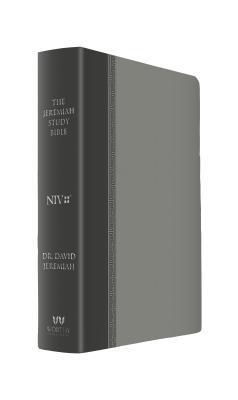 The Jeremiah Study Bible, Niv: (Gray W/ Burnished Edges) Leatherluxe(r)