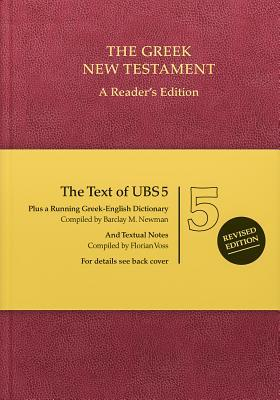 Ubs5 Greek New Testament-FL-Reader