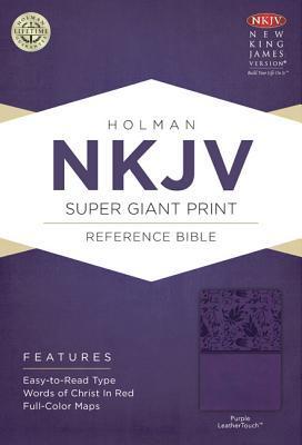 Super Giant Print Reference Bible-NKJV