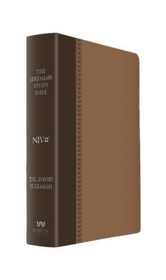 The Jeremiah Study Bible, Niv: (Brown W/ Burnished Edges) Leatherluxe(r) W/Thumb Index