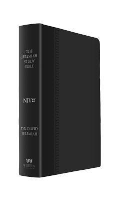 The Jeremiah Study Bible, Niv: (Black W/ Burnished Edges) Leatherluxe(r)