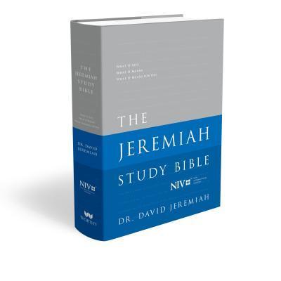 The Jeremiah Study Bible-NIV