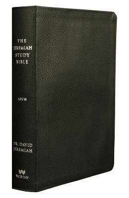 The Jeremiah Study Bible, Niv: (Black W/ Burnished Edges) Leatherluxe(r) with Thumb Index