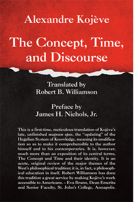 The Concept, Time, and Discourse