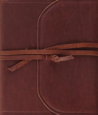 Single Column Journaling Bible-ESV-Strap Flap