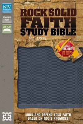 Rock Solid Faith Study Bible for Teens-NIV