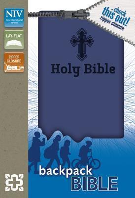 Backpack Bible-NIV-Zipper Closure