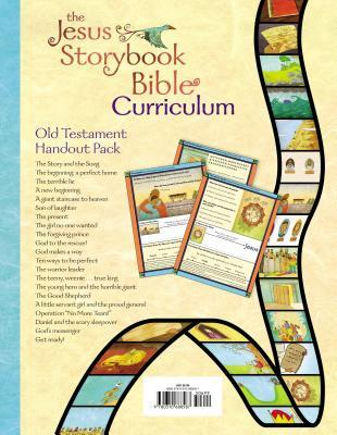 Jesus Storybook Bible Curriculum Kit Handouts, Old Testament