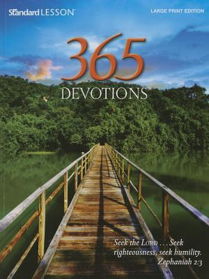 365 Devotions(r) Large Print Edition--2015