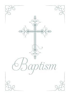 Baptism Certificate (Pk of 6) - 5x7 Folded, Premium, Foil Embossed