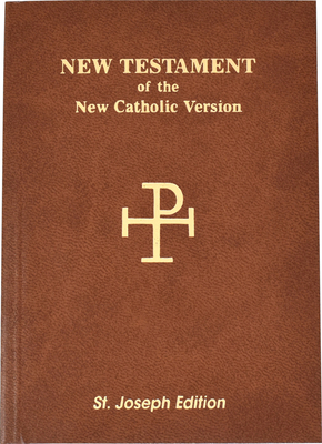 Saint Joseph Vest Pocket New Testament-NCV