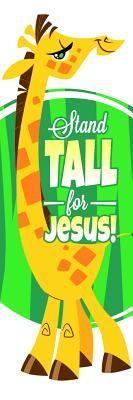Kids Bookmark - Stand Tall for Jesus 1 Cor 16: 13