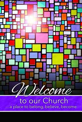 Welcome Folder (Pk of 12) - Welcome to Our Church