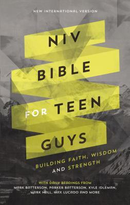 NIV Bible for Teen Guys, Hardcover