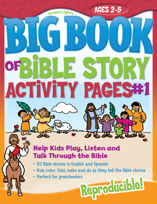 The Big Book of Bible Story Activity Pages #1 [With CDROM]