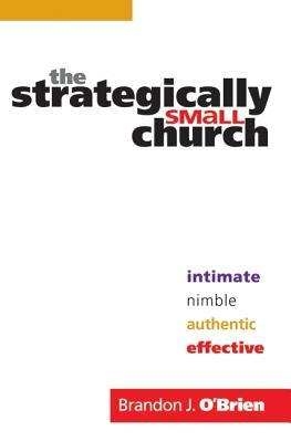 The Strategically Small Church: Intimate, Nimble, Authentic, and Effective