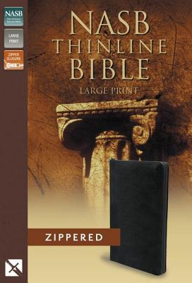 Thinline Bible-NASB-Large Print Zippered