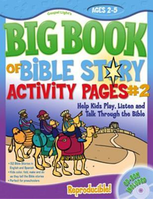 The Big Book of Bible Story Activity Pages #2 [With CDROM]