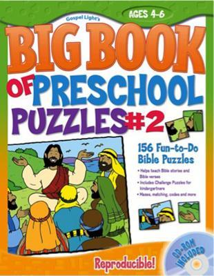 The Big Book of Preschool Puzzles #2: Ages 4-6 [With CDROM]