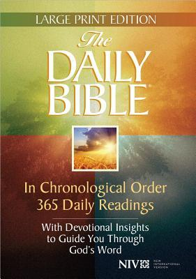 Daily Bible-NIV-Large Print