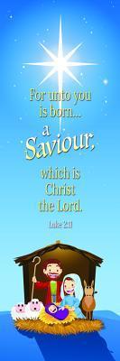 Kids Bookmark - Nativity Luke 2: 11