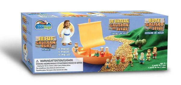 Galilean Boat Playset with Jesus and Apostles