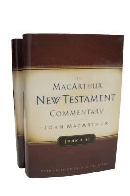 John Volumes 1 & 2 MacArthur New Testament Commentary Set