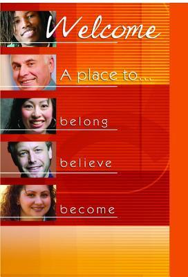Welcome Folder (Pk of 12) - Belong, Believe, Become