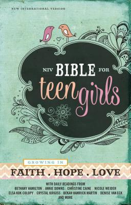 Bible for Teen Girls-NIV