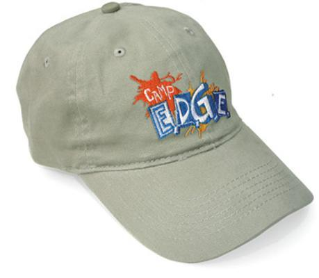 Vacation Bible School 2009 Camp E.D.G.E. Embroidered Leader Ball Cap Vbs: Experience & Discover God Everywhere