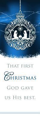 Christmas Bookmark - Luke 2