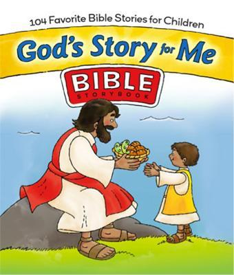 God's Story for Me: 104 Favorite Bible Stories for Children [With Sticker(s)]