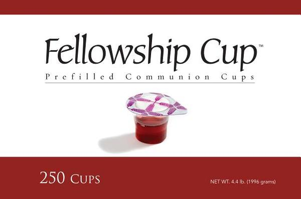 Fellowship Cup Communion Wafer & Juice 250pk