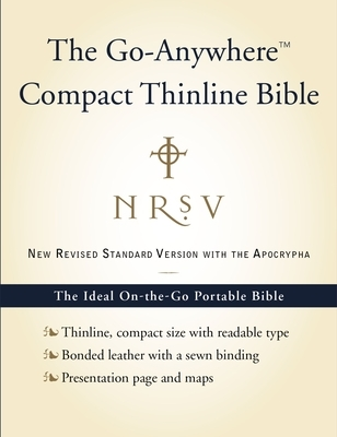 Go-Anywhere Compact Thinline Bible-NRSV-With Apocrypha