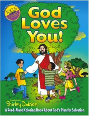 God Loves You!: A Read-Aloud Coloring Book about God's Plan for Salvation