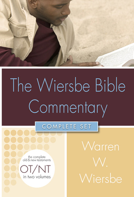 Wiersbe Bible Commentary 2 Vol Set W/CD ROM [With CDROM]